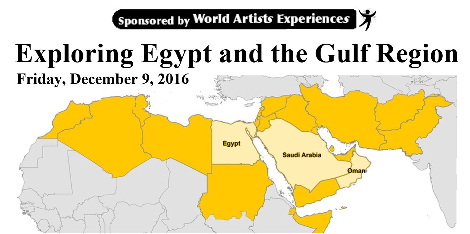 Egypt and the Gulf Region Cultural Immersion Day